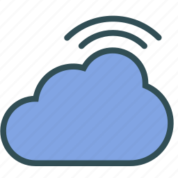 cloud, internet, signal, wireless icon