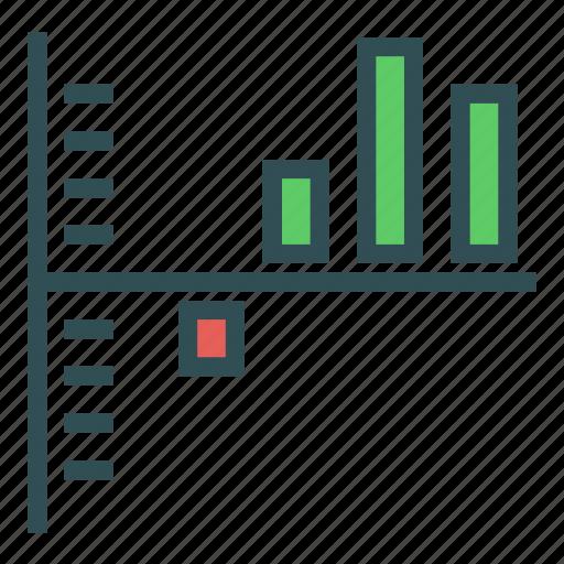 analysis, graph, report, statistics, stats icon