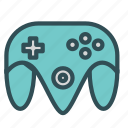 console, game, joystick, play, station icon