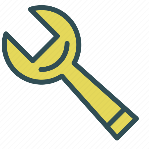 fix, key, repair, tool, wrench icon