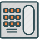 fixed, old, phone, telephone icon