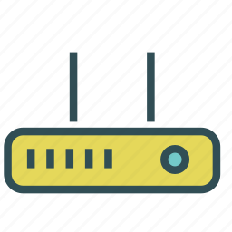 device, router, switch, wireless icon