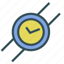 clock, time, watch, wrist icon