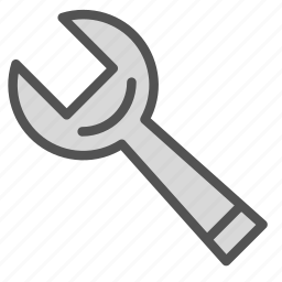 fix, key, repair, tool, wrench icon