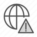 alert, exclamation, internet, network, point icon