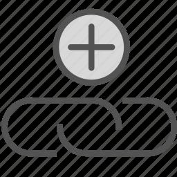 add, attach, pin, plus icon