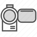 camera, film, media, video icon
