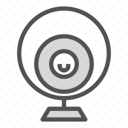camera, computer, device, pc, webcam icon