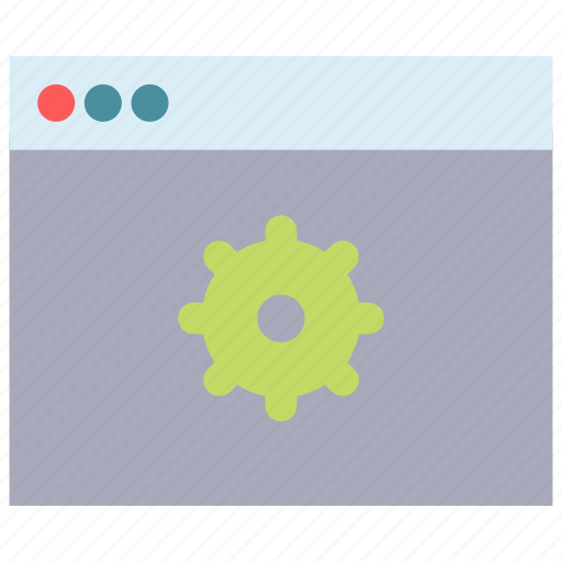 browser, options, settings icon