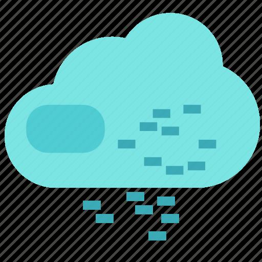 cloud, internet, pixels, storage icon