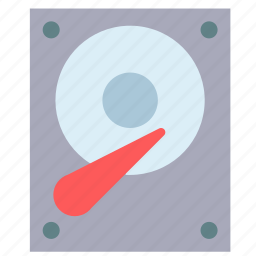 disk, drive, hard, hardware, storage icon