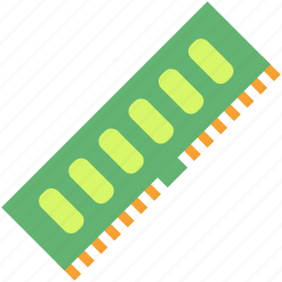 chip, computer, hardware, memory, pc, ram icon