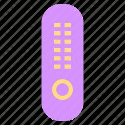 control, remote, television, tv icon