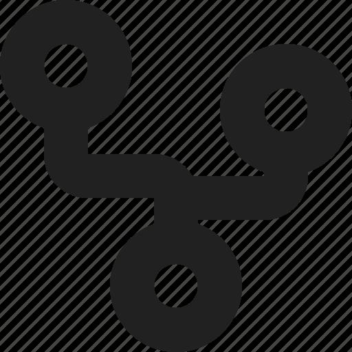 board, links, microchip icon