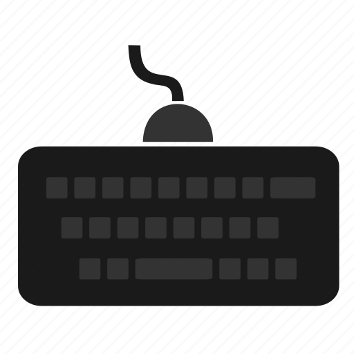 computer, device, hardware, input, keyboard, technology icon