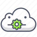 app, cloud, mobile, settings, weather icon