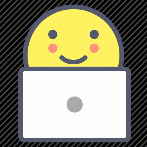 code, design, desk, macbook, mobile icon