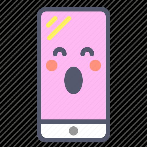 app, iphone, phone, scream icon