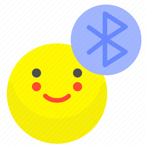bluetooth, connection, network, user icon