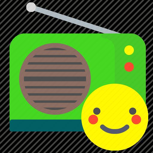 listen, music, news, radio icon