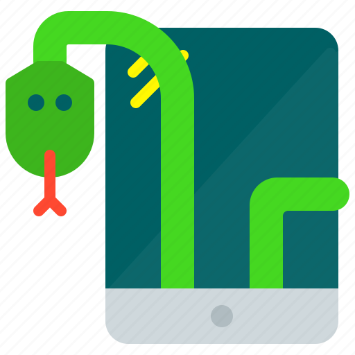 games, mobile, monster, snake icon