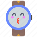 clock, digital, electronic, fitness, sing, watch icon