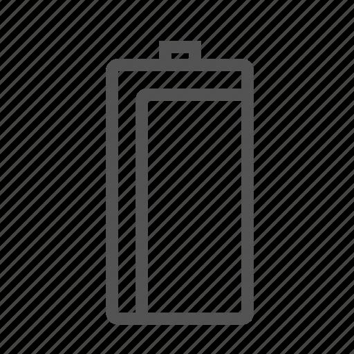 batterie, energy, full, power icon
