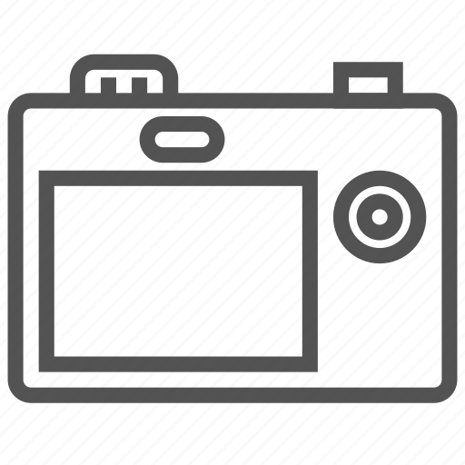 camera, digital, photo, picture icon