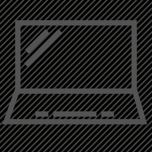computer, laptop, pc, portable icon