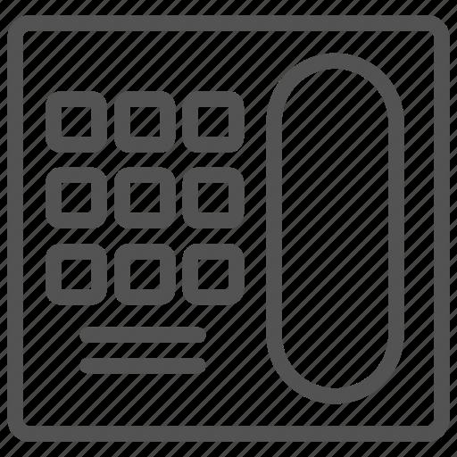 fixed, old, phone, telephone icon