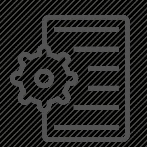 file, list, options, settings icon