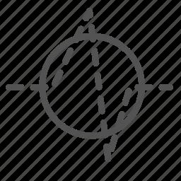 circle, life, signal icon