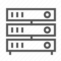 media, mixer, server, station icon