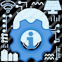 answers, cogwheel, gear, info, information, maintenance, options