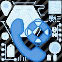 call, communication, life, phone, preserver, talk, telephone icon
