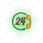 call, comics, handset, line, phone, service, support icon