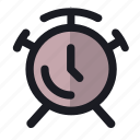 alarm, clock, hour, notification, time icon