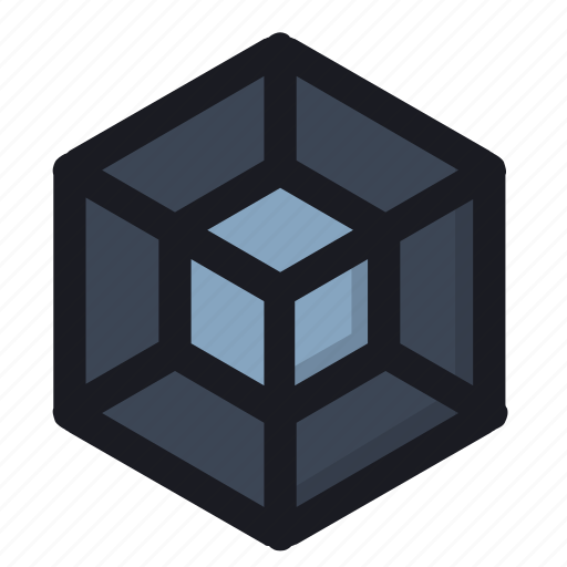 cube, form, it, structure, system icon