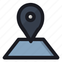 location, map, navigation, place, pointer icon