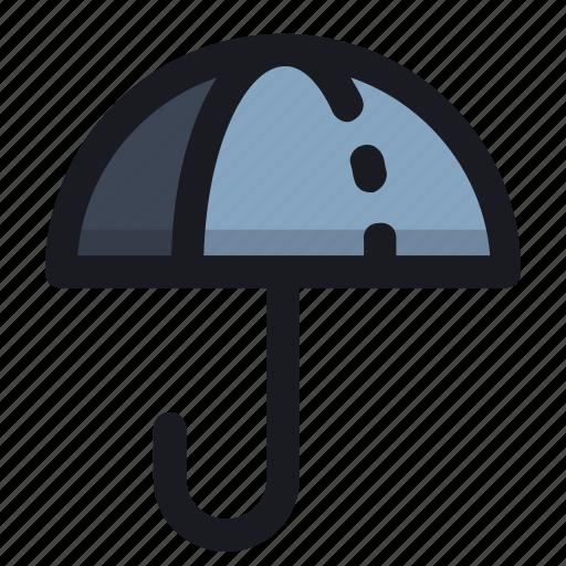 device, rain, save, tool, umbrella icon