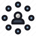 client, contact, man, profile, user icon