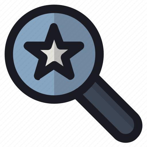 glass, magnifier, research, search, zoom icon