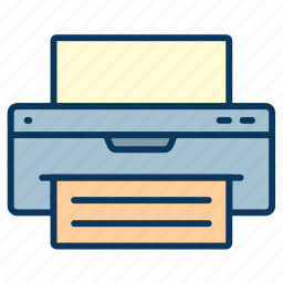 copy, multifunctional, multifunctional device, photocopier, print, printer icon