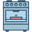 cook, cooker, cooking, cuisine, lunch, oven icon