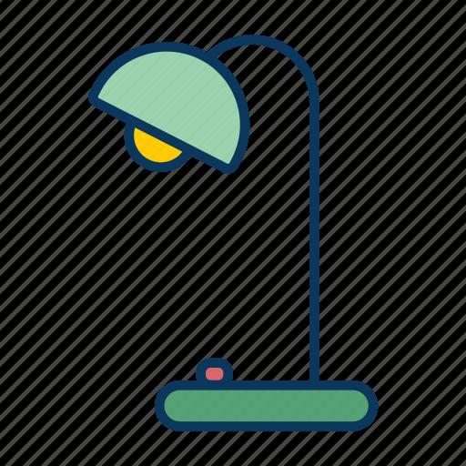 lamp, light, lighting, lumatic, table lamp icon