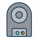 music, noise, sound, sound system, speaker icon