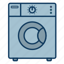 laundry, wash, washing laundry, washing machine icon