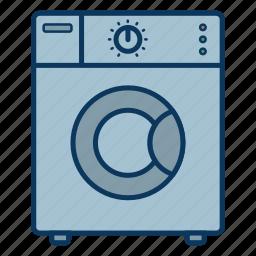 laundry, wash, washing laundry, washing machine icon