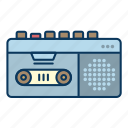 dictaphone, interview, music, player, recording, voice, voice recorder icon
