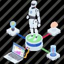artificial intelligence, bionic man, humanoid robot, mechanical man, robot